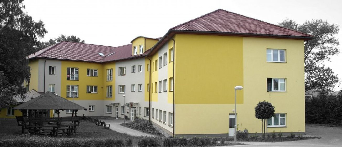Dětský domov v Unhošti. Zadavatel Jež s.r.o.