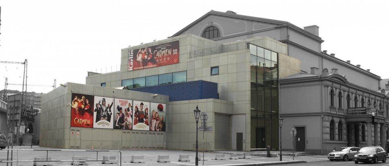 Přístavba hudebního divadla v Karlíně. Zadavatel Jež s.r.o.