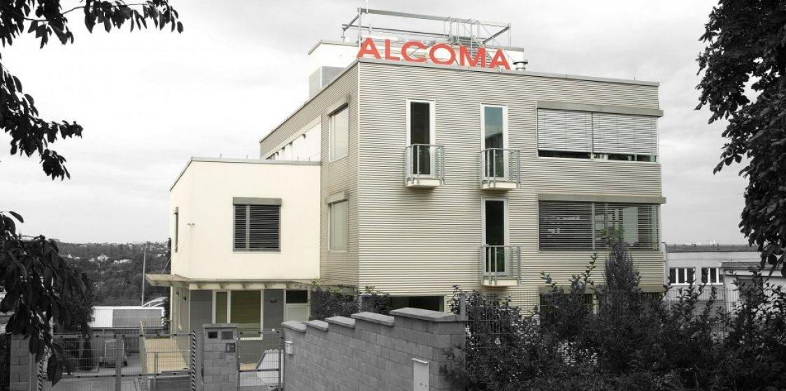 Polyfunkční budova Alcoma v Hostivaři. Zadavatel OKO stavební s.r.o.
