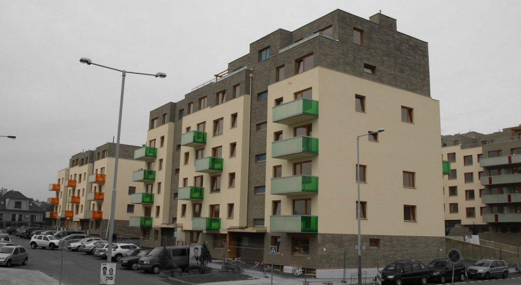 Koti - Hyacint - bytový komplex, Modřany. Zadavatel Průmstav a.s.